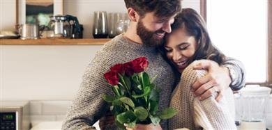 Valentijnsdag rozen