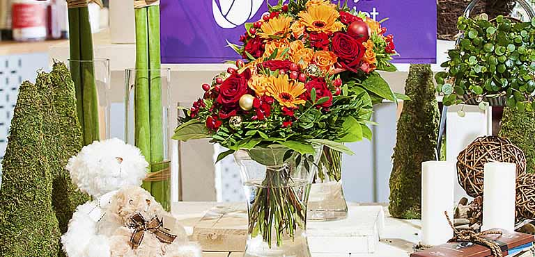 Flower Delivery experts for more than 65 Years...